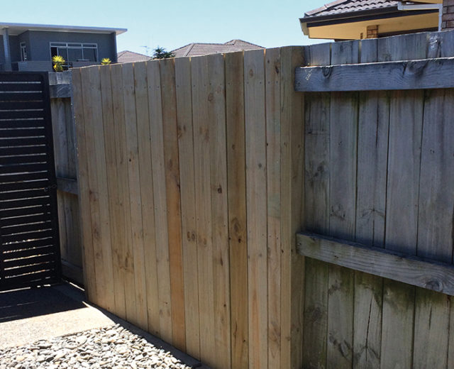 Orange Corporation - Renovation Projects - fencing repairs and build