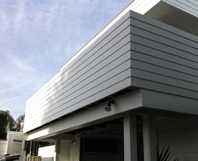 Orange Corporation - Renovation Projects - exterior cladding & Paint