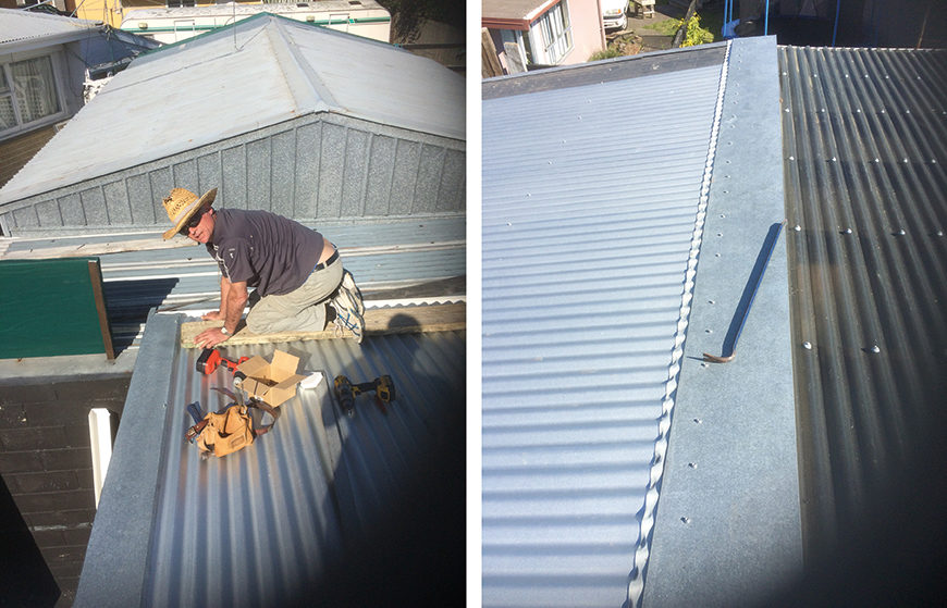 Orange Corporation - Renovation Projects - roofing repair