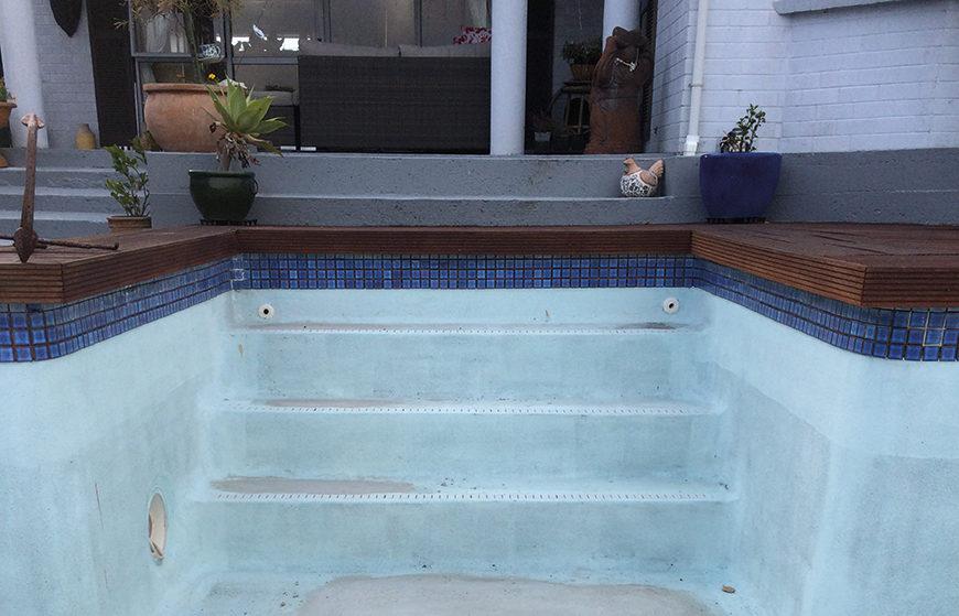 Orange Corporation - Renovation Projects - corp pool resurfacing