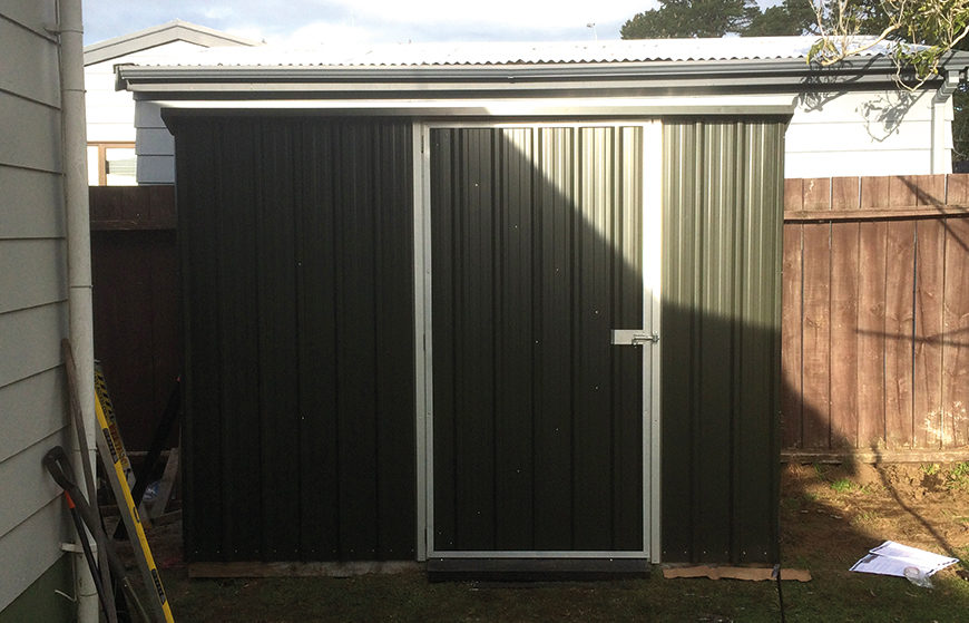 Orange Corporation - Renovation Projects - shed build