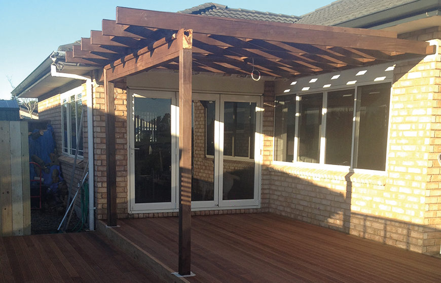 Orange Corporation - Renovation Projects - decking